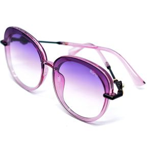 نظارة شمسية دائرية للنساء R544 من بانا-بنفسجي-بالدرزن