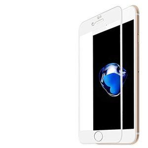حامي شاشة ثري دي متوافق مع اجهزة ايفون 8- ابيض