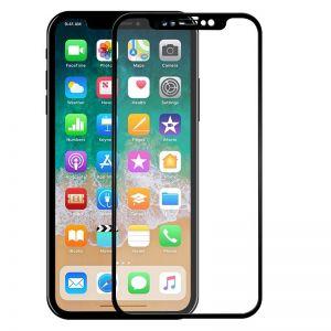 حامي شاشة 5 دي كامل الشاشة متوافق مع اجهزة ايفون-اسود