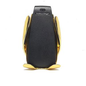 ِشاحن سيارة وايرليس مع ستاند للجوال smart sensor--ذهبي