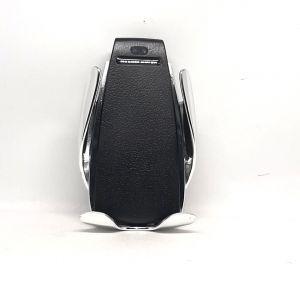 ِشاحن سيارة وايرليس مع ستاند للجوال smart sensor-فضي-