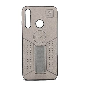 كفرات خلفية جلد لهواتف الايفون, الهواوي,السامسونج-فضي