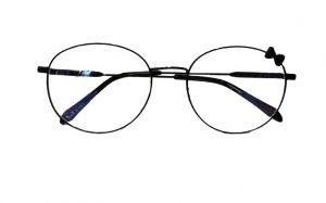 نظارة فريم طبية نسائي -اسود  بالدرزن