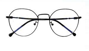 نظارة فريم طبية رجالي-اسود بالدرزن