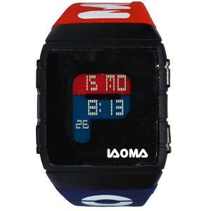 ساعة يد رقمية رياضية -احمر-ازرق -بالدرزن