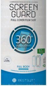 استيكر 360 حراري شفاف لكامل الجهاز للايفون 8
