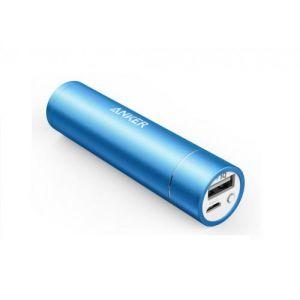بنك الطاقة 3350 من انكر بتقنية  IQ ضمان سنتين-ازرق