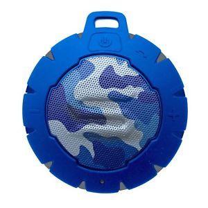 سماعة سبيكر ستورم لاسلكية مضادة للماء من سول ضمان سنة -ازرق