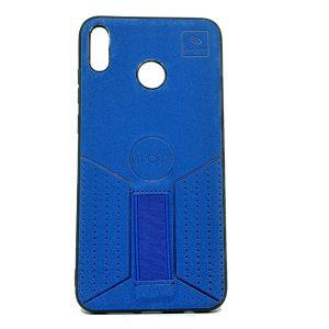 كفرات خلفية جلد لهواتف الايفون, الهواوي,السامسونج-ازرق